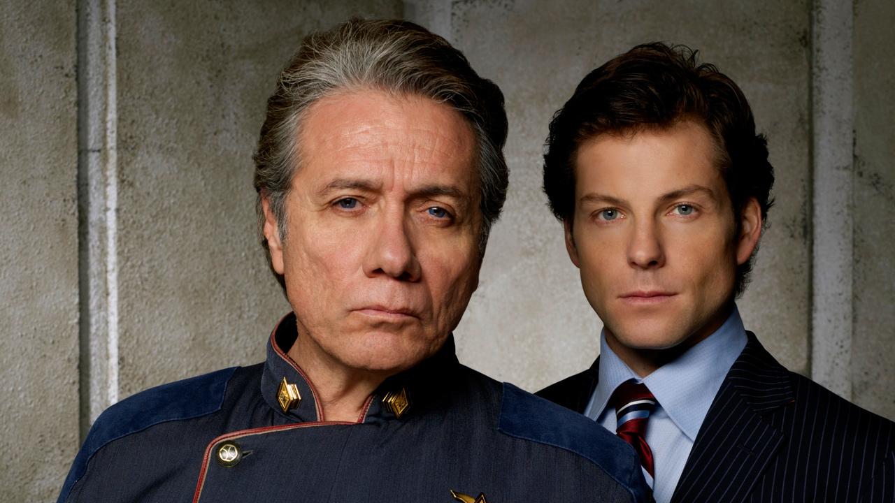 """Cast of """"Battlestar Galactica"""" Offers Final Season Hints"""