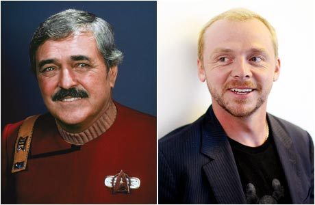 "Pegg: ""James Doohan is Scotty"""