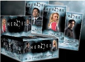 """NBC Universal Debuts One-of-a-Kind """"Heroes"""" Trading Cards"""