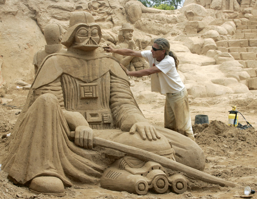 Portugal Hosts Sand Sculptures