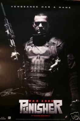 PUNISHER: WAR ZONE eBay Poster Auction