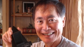 George Takei Signed Props