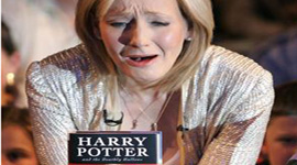 "Rowling Reads ""Harry Potter and the Deathly Hallows"" LIVE"