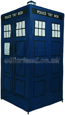 Doctor Who Tardis Zipperobe