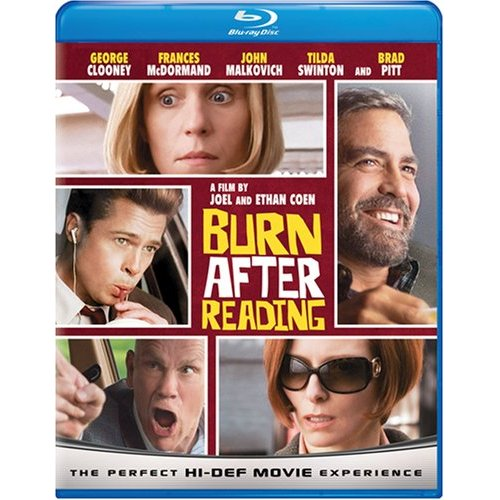 """Russo Review — """"Burn After Reading"""" DVD & Blu Ray"""