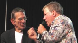 "Nimoy Visits Bill on ""Shatner's Raw Nerve"""