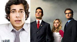 """Chuck"" Vs. ""Heroes"": The Season Finales"