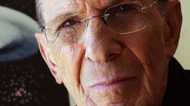 "Nimoy Retires From ""Trek"" Conventions"