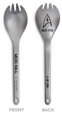 """Star Trek"" Limited Edition Spork"