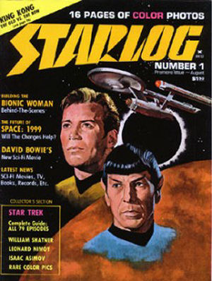 """Starlog"" Ceasing Print Publication"