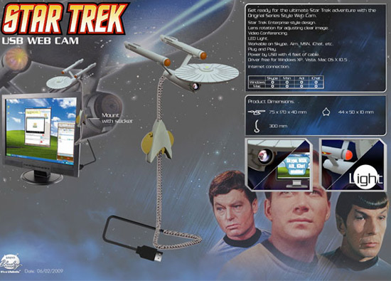 """Star Trek"" Web Cam"