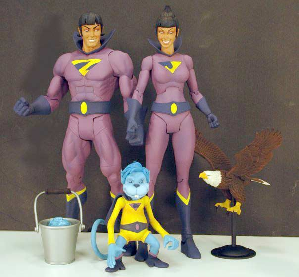 Wonder Twins Action Figures to Debut at ComicCon
