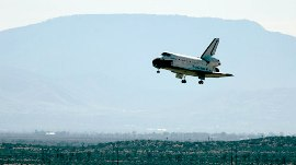 Shuttle Endeavor Lands Safely After 16 Day Mission