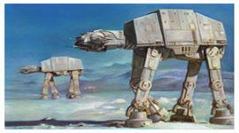 Star Wars Imperial Walker Loft Bed
