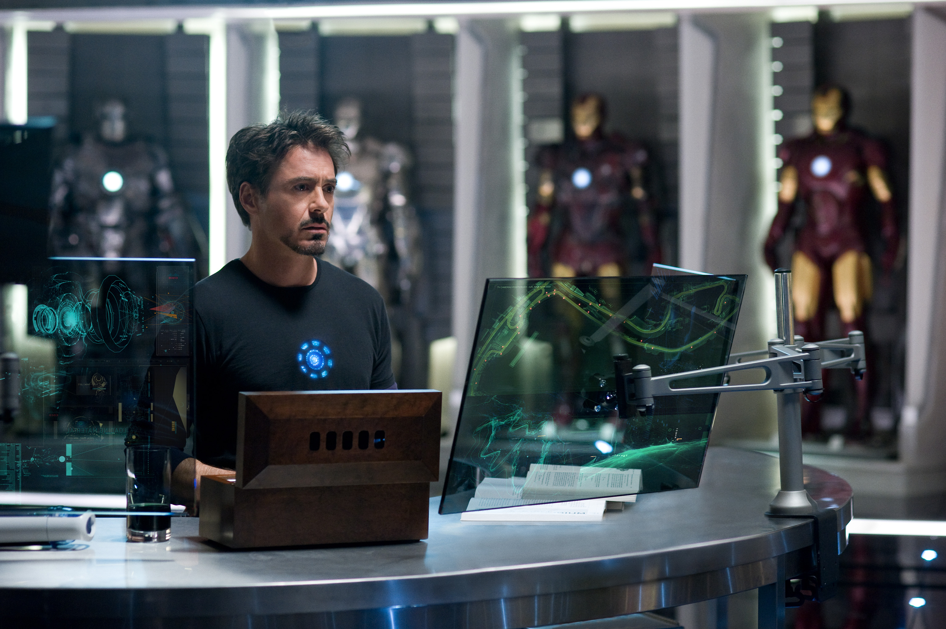 """New """"Iron Man 2"""" Images Released"""