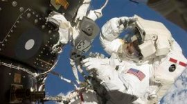 Astronauts Complete Space Walk Mission