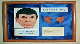 "Nimoy Donates Prized ""Spock Ears"" for Charity"