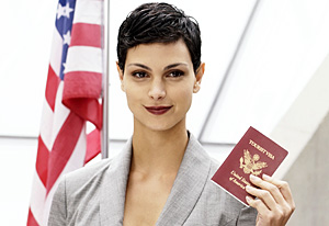 Sit Down with Visitors' Leader Morena Baccarin — A TV Guide On-Line Interview