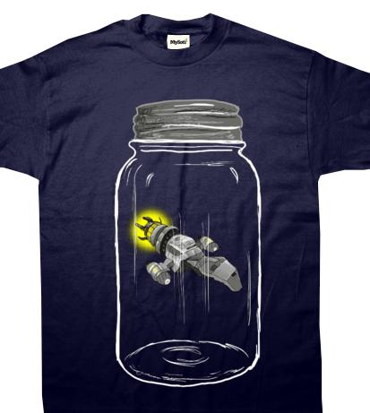 Catching Serenity T-Shirt Available