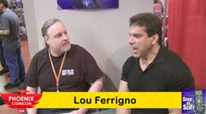 "<span class=""entry-title-primary"">Phoenix Comicon 2009: Interview with Lou Ferrigno</span> <span class=""entry-subtitle"">Brian Brown talks with TV's original ""Incredible Hulk""</span>"