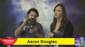 "<span class=""entry-title-primary"">Phoenix Comicon 2009: Interview with Aaron Douglas</span> <span class=""entry-subtitle"">Sam Roberts chats with BSG's Chief Tyrol doing his Grizzly Man impersonation</span>"