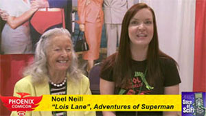 "<span class=""entry-title-primary"">Phoenix Comicon 2009: Interview with Noel Neill</span> <span class=""entry-subtitle"">Sam Roberts chats with TV's original Lois Lane</span>"