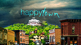 """Happy Town"": A Slice of SciFi Review"