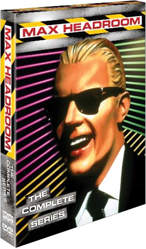 "DVD Details for ""Max Headroom"" Emerge"