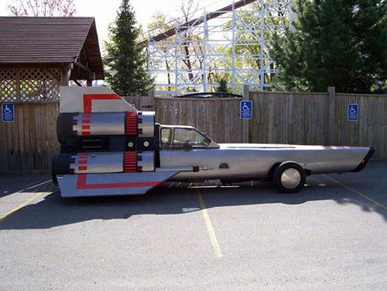 Man Turns Mail Truck Into Street-Legal Viper