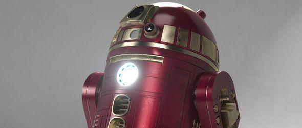 R2D2 As Iron Man