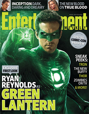 Ryan Reynolds Green Lantern Costume on Ew Reveals Green Lantern Costume     Slice Of Scifi