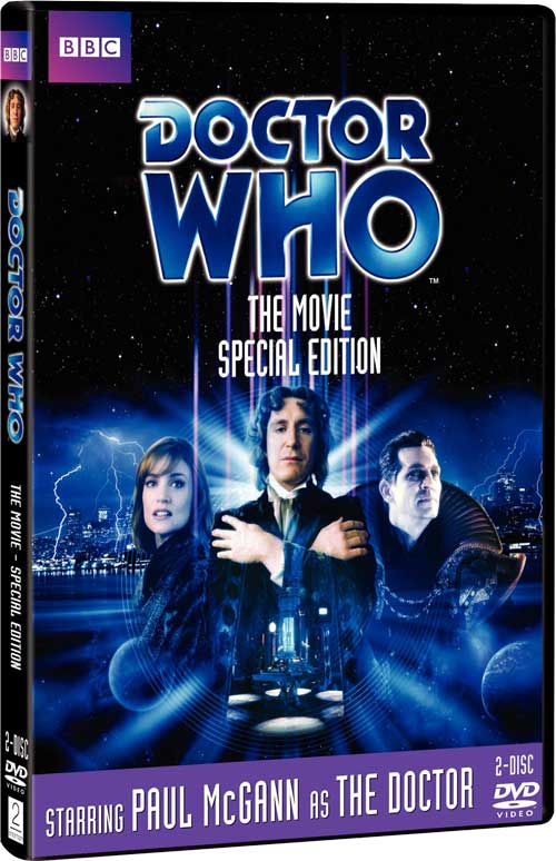 Doctor who the movie (special edition) on dvd movie.