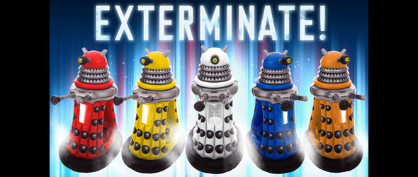 World's First Ride-In Dalek Toy