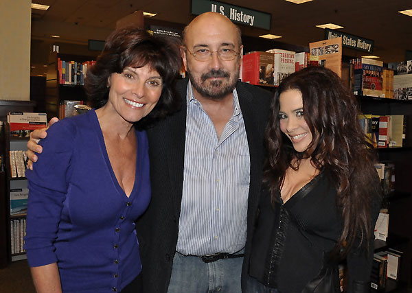 L-R, Adrienne Barbeau, Harry Manfredini and Brooke Lewis