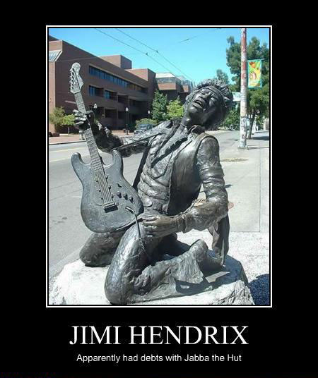 Hendrix Owed Jabba