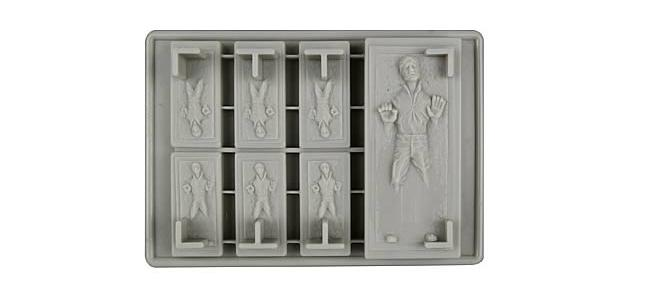 Han Solo Ice Cube Trays