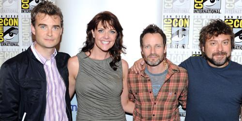 """Slice of SciFi #319: Amanda Tapping and Damian Kindler (""""Sanctuary"""")"""