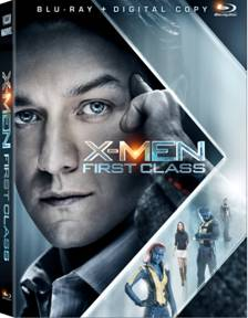 """""""X-Men First Class"""" Coming on Blu-Ray and DVD September 9"""