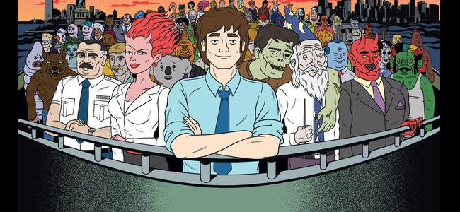 """Slice of SciFi #432: An Interview With Devin Clark and Kurt Metzger of """"Ugly Americans"""""""