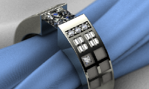 Fan Creates TARDIS Wedding Ring