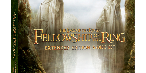 """Extended """"Lord of the Ring"""" Blu-Rays Hit Stores Today"""