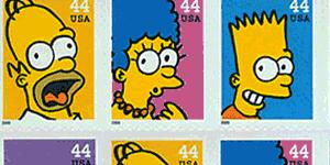 """""""Simpsons"""" Stamps Don't Sell"""