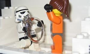 Legos Help Man Propose