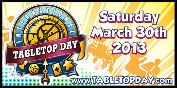 Slice of SciFi Will Play on International Table Top Day
