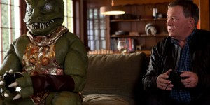 Shatner And The Gorn Sit Down To Settle Rivalry