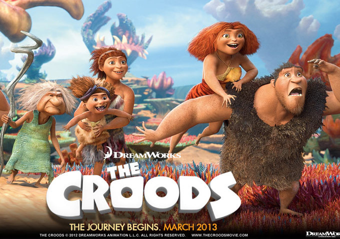 """""""The Croods"""" — A Slice of SciFi Movie Review"""