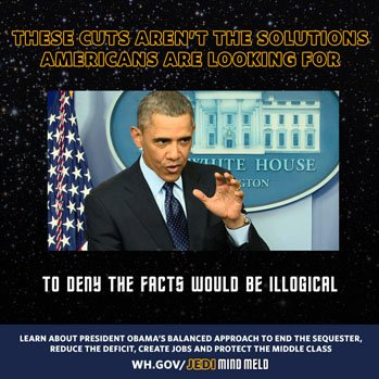 "Obama Melds ""Trek"" and ""Wars"""
