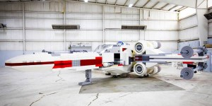 LEGO Builds Scale Model X-Wing