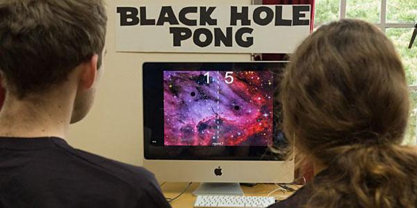 Black Hole Pong