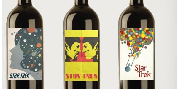 "Toast the Final Frontier With ""Star Trek"" Wine or Beer"